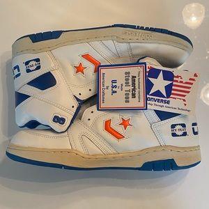 Vintage Converse steel toe shoes men's 9.5 rare!